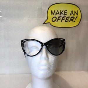 Versace Butterfly 4267 GB1/11 Gray Grad Sunglasses